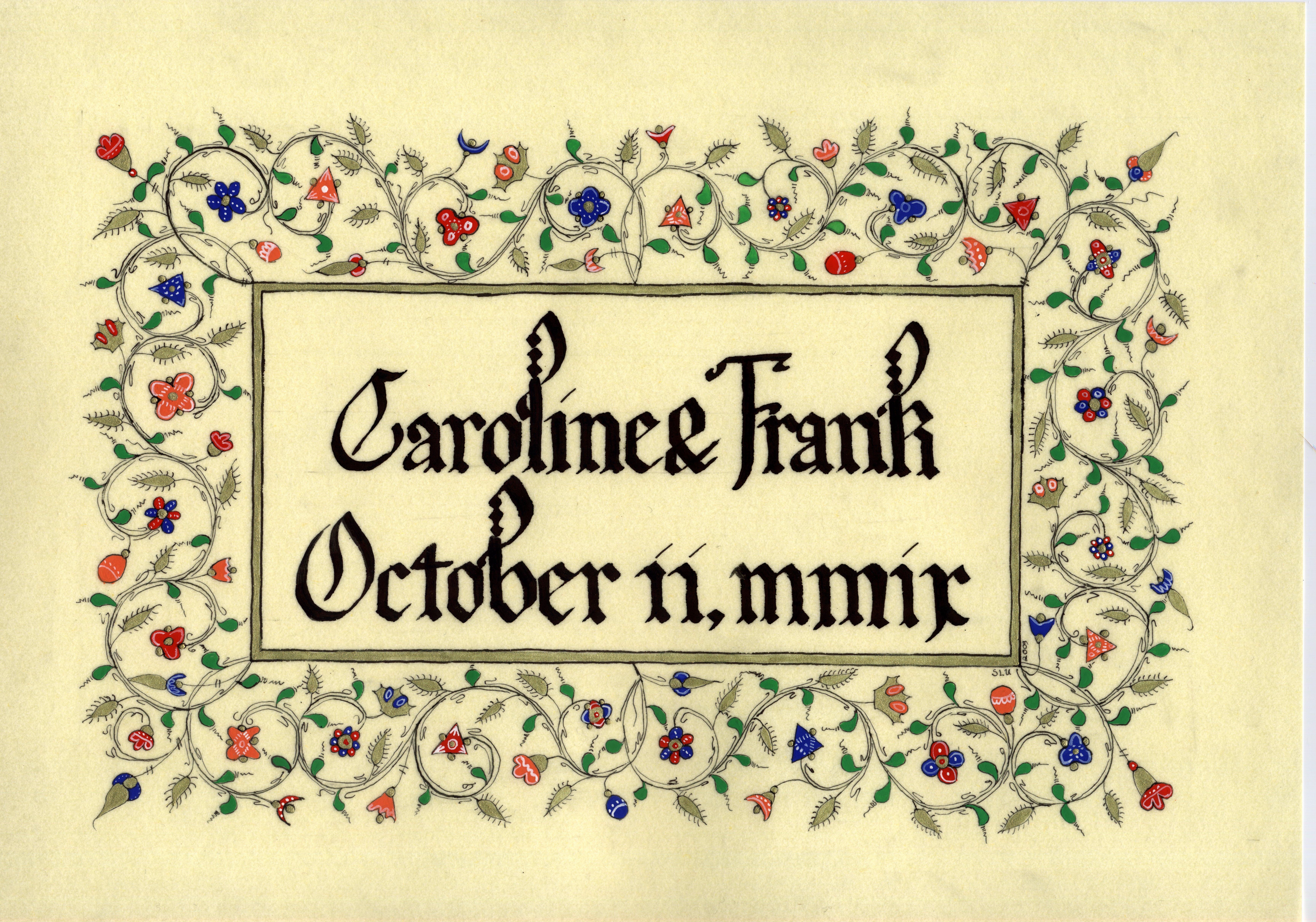 Caroline & Frank